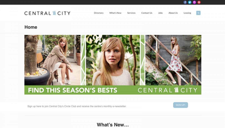 central city web design
