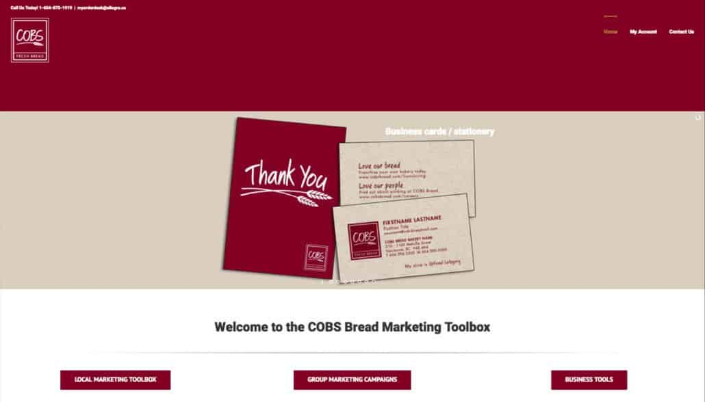 cobs marketing toolbox web design