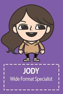 JODY Wide Format Specialist