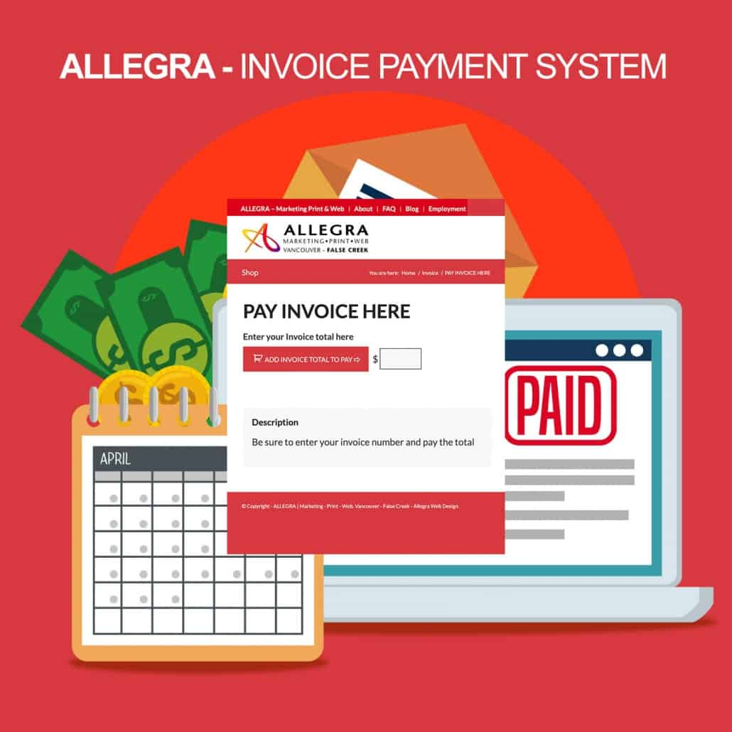 allegra invoice systems